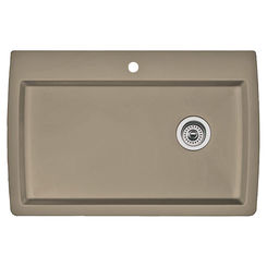 Click here to see Blanco 441287 Blanco 441287 Diamond Truffle Super Single Bowl Dual-Mount Sink