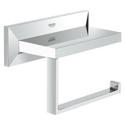 Click here to see Grohe 40499000 Grohe 40499000 Allure Brilliant Toilet Paper Holder - Starlight Chrome
