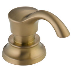 Click here to see Delta RP71543CZ Delta RP71543CZ CASSIDY Champagne Bronze Soap/Lotion Dispenser and Bottle