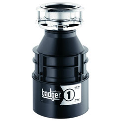 Click here to see Insinkerator BADGER-1 Insinkerator Badger-1 1/3 HP Garbage Disposal Less Cord
