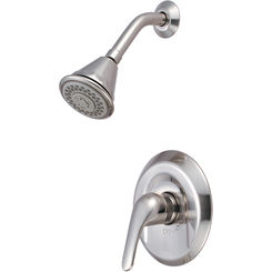Click here to see Pioneer 4LG300T-BN Pioneer 4LG300T-BN Single-Handle Shower Trim Set In a Brushed Nickel Finish
