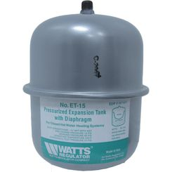 Click here to see Watts ETX-15 Watts ETX-15 2.1 Gallon Potable Water Expansion Tank