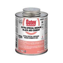 Click here to see Oatey 30918 1 Pint ABS Extra Special Black Glue