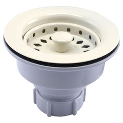 Click here to see Jones Stephens B02003 Jones Stephens B02003 Sink Basket Strainer - Biscuit