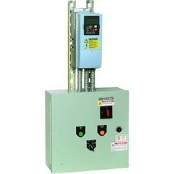 Click here to see Honeywell NXBJ0040CS20200000 Honeywell NXBJ0040CS20200000 40HP NXS VFD & 2 Contactor Cool Blue Bypass Variable Frequency Drive