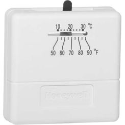 Click here to see Honeywell T812A1002 Honeywell T812A1002 1 Heat Single Stage Digital Round Thermostat