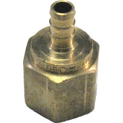 Click here to see   3/8 x1/2 Inch PEX Female Adapter, Brass Construction