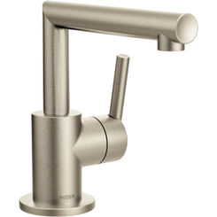 Click here to see Moen S43001BN Moen S43001BN Arris Single-Handle Bathroom Faucet, Brushed Nickel