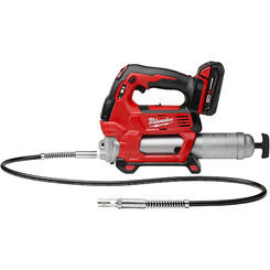 Click here to see Milwaukee 2646-22CT Milwaukee 2646-22CT M18 Cordless 2-Speed Grease Gun Kit