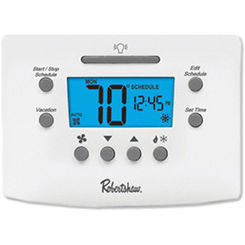 Click here to see Robertshaw RS6110 Robertshaw RS6110 Programmable Thermostat