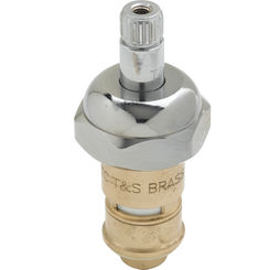 Click here to see T&S Brass 012394-25 T&S BRASS 012394-25 CERAMA CARTRIDGE W/ BONNET, CHECK-VALVE, RTC (HOT)