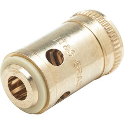 Click here to see T&S Brass 064L T&S BRASS 064L REMOVABLE INSERT, HOT (RIGHT HAND) FOR ETERNA CARTRIDGE