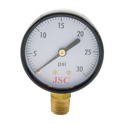Click here to see   Jones Stephens G60030  30 Psi 2 Pressure Gauge