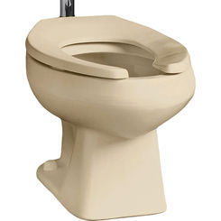 Click here to see Mansfield 130-CBO Mansfield Alto Round front Toilet Bowl (Bowl Only)  Model 130-Bone
