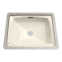 Click here to see Toto LT491G#12 Toto LT491G-12 Biege Connelly Undermounted Bathroom Sink with SanaGloss Glaze
