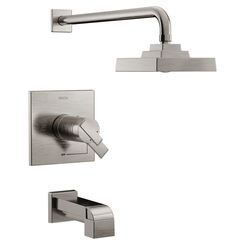 Click here to see Delta T17T467-SS Delta T17T467-SS Ara Tempassure Tub/Shower Trim - Stainless Steel