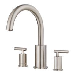 Click here to see Pfister RT6-5NCK Pfister RT6-5NCK Contempra Brushed Nickel Roman Tub Faucet Trim