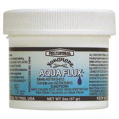 Click here to see Rectorseal 74044 Nokorode Aqua Flux 74044 Paste Flux, 2 oz, Tan