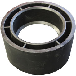 Click here to see Commodity  3 x 2 Inch ABS Flush Bushing, ABS Construction