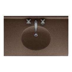 Click here to see Swanstone VT02237.123 Swanstone VT1B2237-123 Ellipse Vanity Top, 37