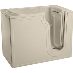 Click here to see Mansfield 8110-BONE Mansfield Restore Wall-in Whirlpool- Left Handed Drain Model 8110-BONE