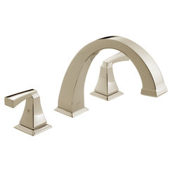 Click here to see Delta T2751-PN Delta-PN T2751 Dryden Roman Tub Trim - Polished Nickel