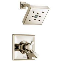 Click here to see Delta T17251-PNH2O Delta T17251-PNH2O Dryden Monitor Shower Trim in Polished Nickel