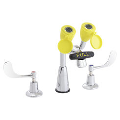 Click here to see Speakman SEF-1800-CA-8 Speakman SEF-1800-CA Eyesaver Chrome / Yellow Eye Wash/Faucet Combination