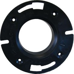 Click here to see Commodity  4 x 3 Inch ABS Closet Flange, ABS Construction