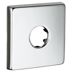 Click here to see Grohe 48118000 Grohe 48118000 Square Escutcheon, StarLight Chrome