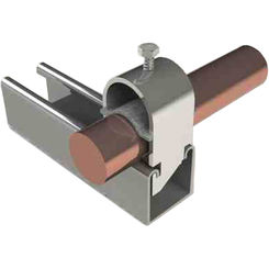 Click here to see B-Line  The Unistrut UNI 112 1-1/2 Inch Stainless Steel Pipe Clamp