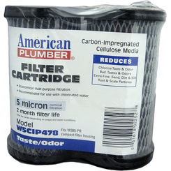 Click here to see American Plumber W5CIP478 American Plumber W5CIP478 155022-52 5 Micron Filter
