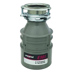 Click here to see Insinkerator E101-W/C InSinkErator Evergrind 1/3 HP Garbage Disposal with Cord -  InSinkErator E101-W/C