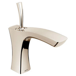 Click here to see Delta 552LF-PNLPU Delta 552LF-PNLPU Tesla Polished Nickel Single Handle Lavatory Faucet