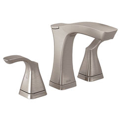 Click here to see Delta 3552-SSMPU-DST Delta 3552-SSMPU-DST Tesla Stainless Two Handle Widespread Lavatory Faucet