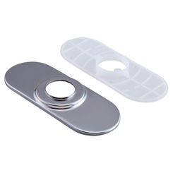 Click here to see Delta RP77702AR Delta RP77702AR Escutcheon and Gasket Kit, Arctic Stainless
