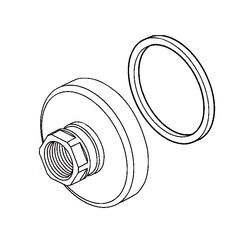 Click here to see Delta RP79434 Delta RP79434 COMPEL Handle Flanges and Gaskets - Chrome