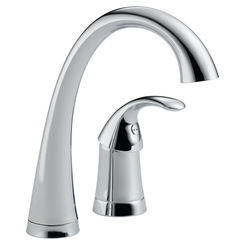 Click here to see Delta 1980-DST Delta 1980-DST Pilar Single Handle Bar/Prep Faucet - Chrome