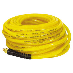 Click here to see Bostitch PRO-3850 Prohoze PRO-3850 Premium Air Hose, 3/8 in x 50 ft, MNPT, 200 psi, Polyurethane
