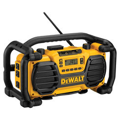 Click here to see Dewalt DC012 Dewalt DC012 Heavy Duty Worksite Charger/Radio, LCD Display