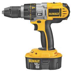 Click here to see Dewalt DCD950KX XRP DCD950KX Heavy Duty Hammer Drill/Driver Kit, 18 V, Ni-Cd