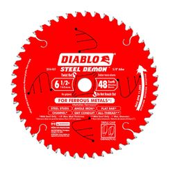 Click here to see Diablo D0648F Diablo D0648F 6-1/2-Inch 48T Circular Saw Blade