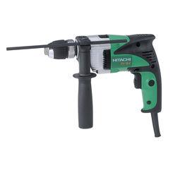 Click here to see Hitachi DV16V Prograde Pro Corded Hammer Drill, 6 A, 350 W, 0.88 hp, 1-1/16 in, 0 - 2900 rpm