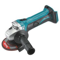 Click here to see Makita XAG01 Makita BGA452 Angle Cordless Grinder Kit, 18 V, Li-Ion, 3 Ah, 10000 rpm, 4-1/2 in Wheel