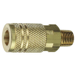 Click here to see Plews 13-226 Plews/Edelmann 13-226 Hose Coupling, 1/4 X 3/8 in, MNPT, 300 psi, Brass