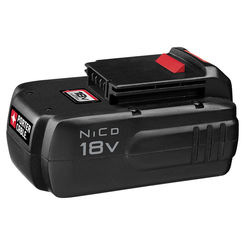 Click here to see Porter-Cable PC18B Porter-Cable PC18B Battery Pack, 18 V, NiCd