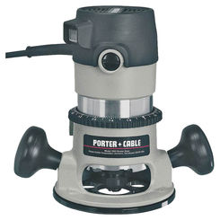 Click here to see Porter-Cable 9690LR Porter-Cable 9690LR Round Base Corded Router Kit, 120 VAC, 11 A, 1-3/4 hp, 27500 rpm