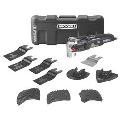 Click here to see Rockwell RK5141K Rockwell RK5141K Sonicrafter Oscillating Tool Kits, 4 Amp, Universal Fit