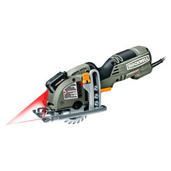 Click here to see Rockwell RK3440K Versa Cut RK3440K Compact Mini Corded Circular Saw, 120 V, 4 A, 3-3/8 in