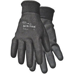 Click here to see Boss 7841X Arctik Xtreme 7841X Protective Gloves, Men's/X-Large, Nylon Shell, Black, Terry Lining